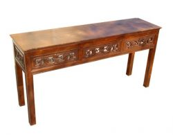 carved chinese console